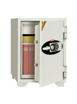 ( 070EHK ) Safe W/Round Electronic Dial Lock + Keylock + Hand