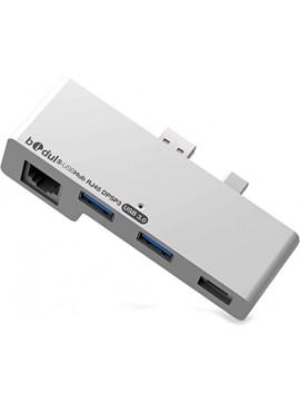 HUB USB 3.0 & RJ45 FOR Microsoft Surface Tablets