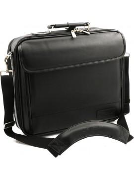 "Deluxe NotebookCase notebook case 38.1 cm (15"") Black"