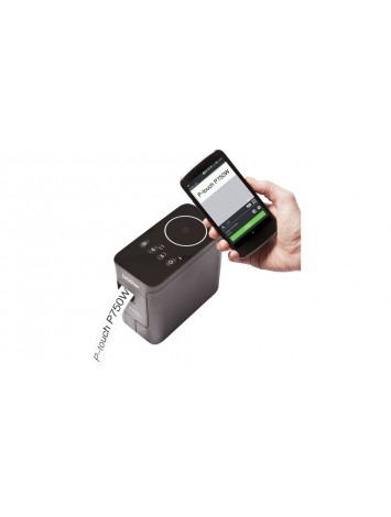 ( PTP750W ) Label printer for work with Wireless, PC-compatible