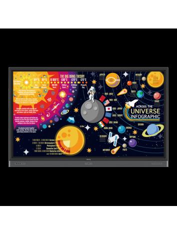 "( RP8601K ) 4K UHD 86""Education Interactive Flat Panel Display |"