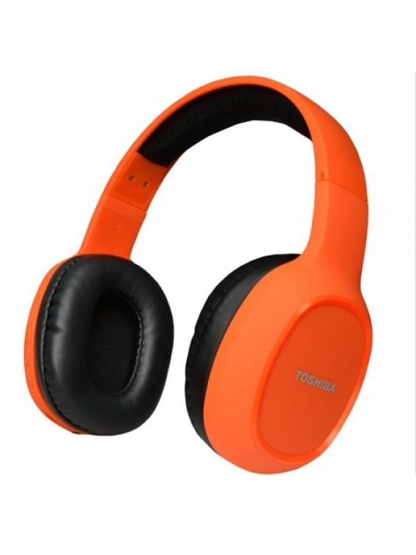 TOSHIBA RZE BT160H (D) Bluetooth Headset  (Orange, On the Ear)