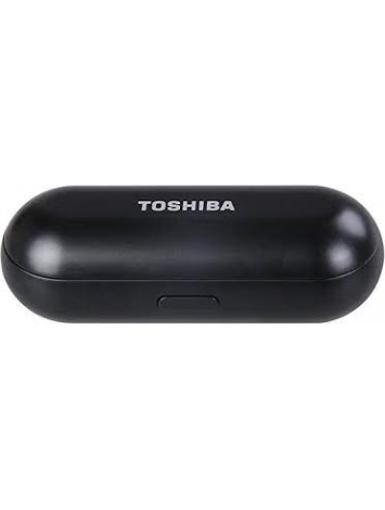 Toshiba RZE-BT800E(K) True-Wireless Stereo Sweat-Resistant BT Earphones With Built-In Dual Microphones, Black