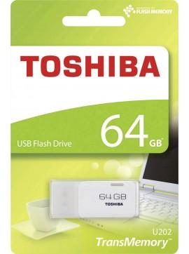 (THN-U202W0640E4) TOSHIBA USB FLASH DRIVE 64GB - White