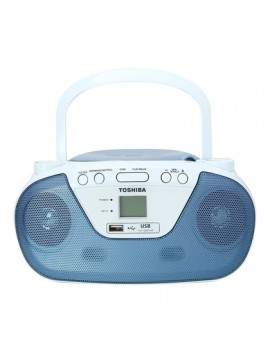 ( TY-CRU8(L) ) Toshiba Portable Radio With MP3/CD/USB Player (Blue)