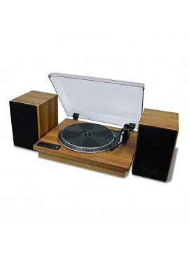 ( TY-LP200 ) Toshiba Vinyl Record Player Turntable - Brown