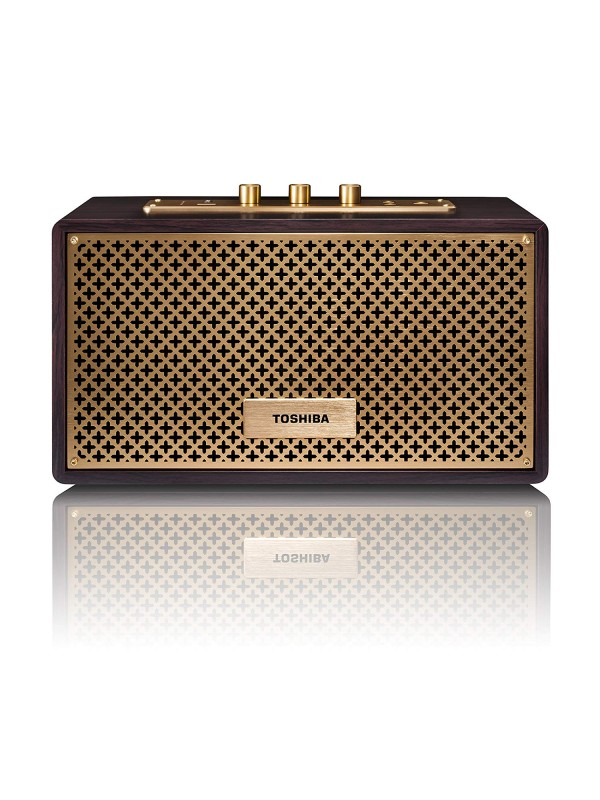 ( TY-WSP67 BS ) Toshiba BS Wireless Bluetooth Speakers Vintage Retro Home Speaker Box System with USB Playback