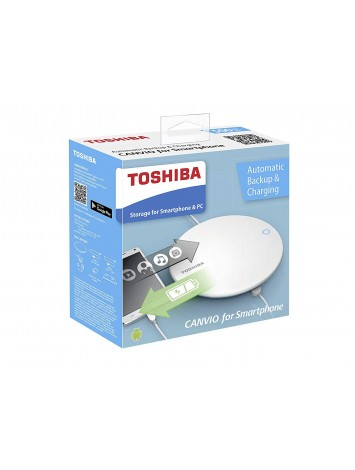 Toshiba Canvio for Smartphone, 500GB  White, HDWS105EW3AA