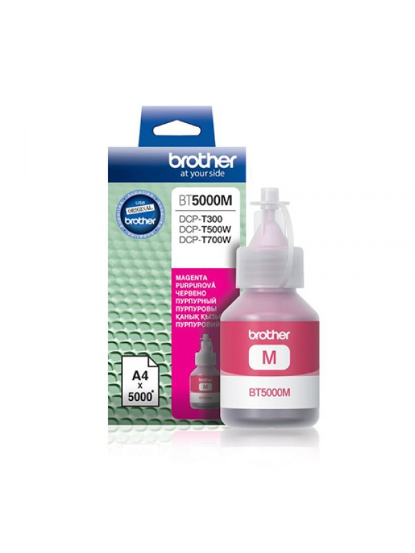 ( BT5000M ) BROTHER Ink for Inkjet Printing 5000 Page Yield - Magenta