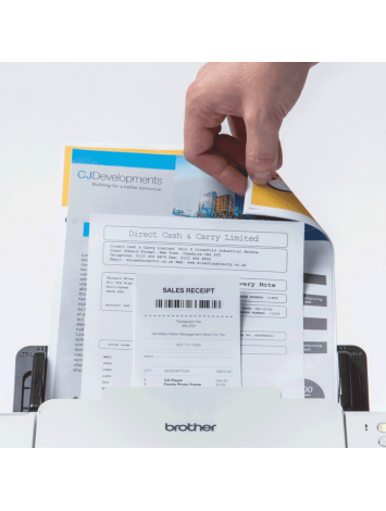 ( ADS2200 ) Brother High Speed, Desktop Color Scanner with Two-Sided (Duplex) Scanning