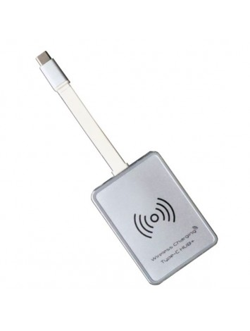 Kiwi Hub USB-C with Wireless Qi Charger